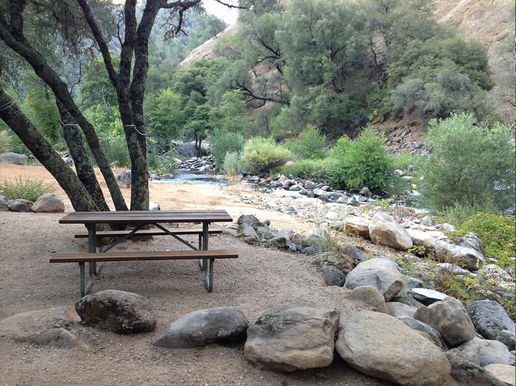 Camping Mokelumne River California Roaring Camp