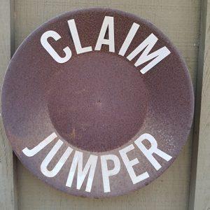 claim jumper cabin marker