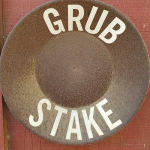 grub stake cabin marker